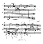 Frammento di partitura vocale
