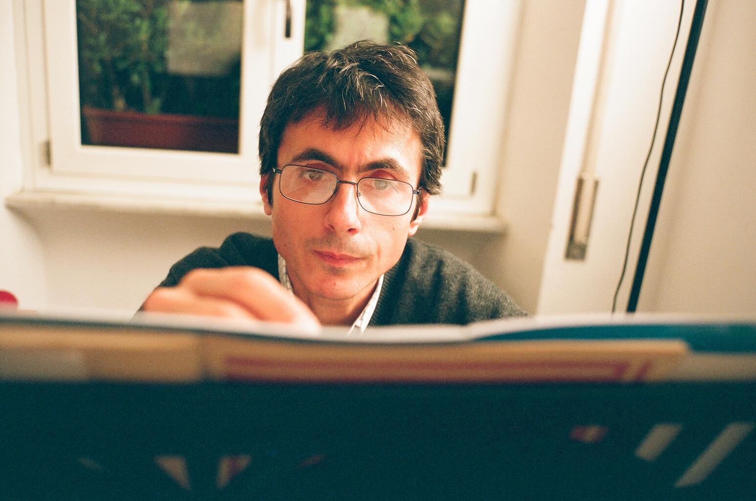 Guido Coppotelli all'epoca del Trio